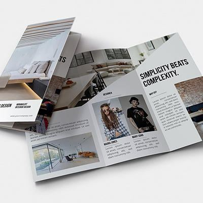 Brochure Design Outsourcing Service