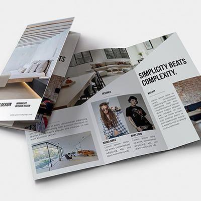 Brochure Design Outsourcing Service