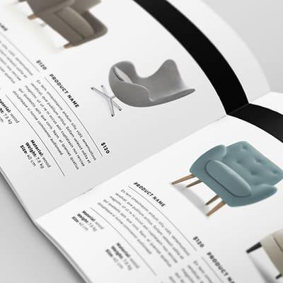 Catalog Design Outsourcing Service