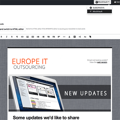 Newsletter  Design Outsourcing Service