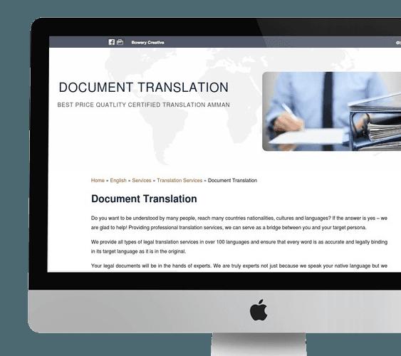 Content Creation Services