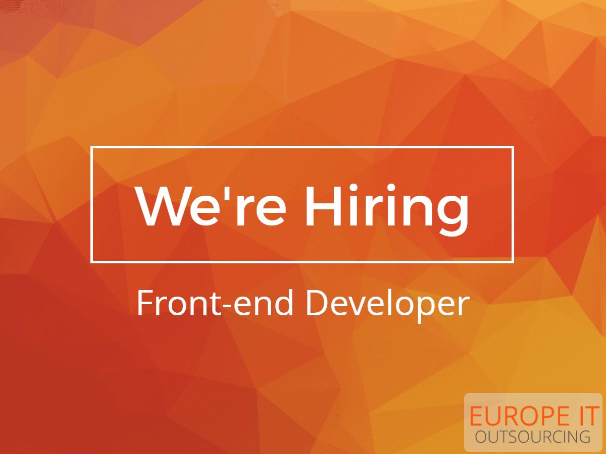 Front-end Developer Job