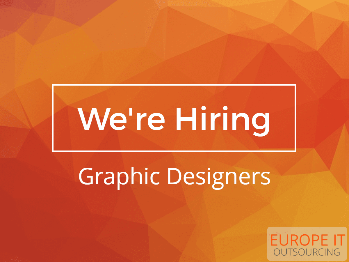 Graphic Designer Job Europe IT Outsourcing