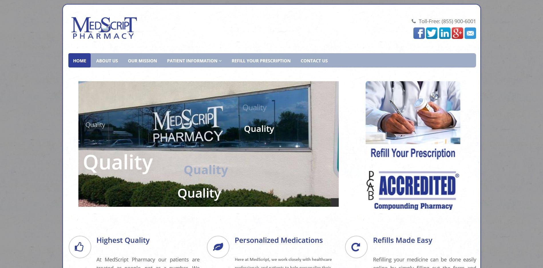 Online Pharmacy System Development