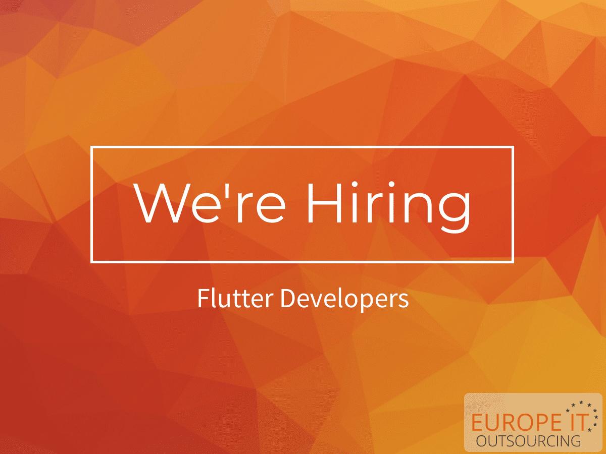 Flutter Developer Job