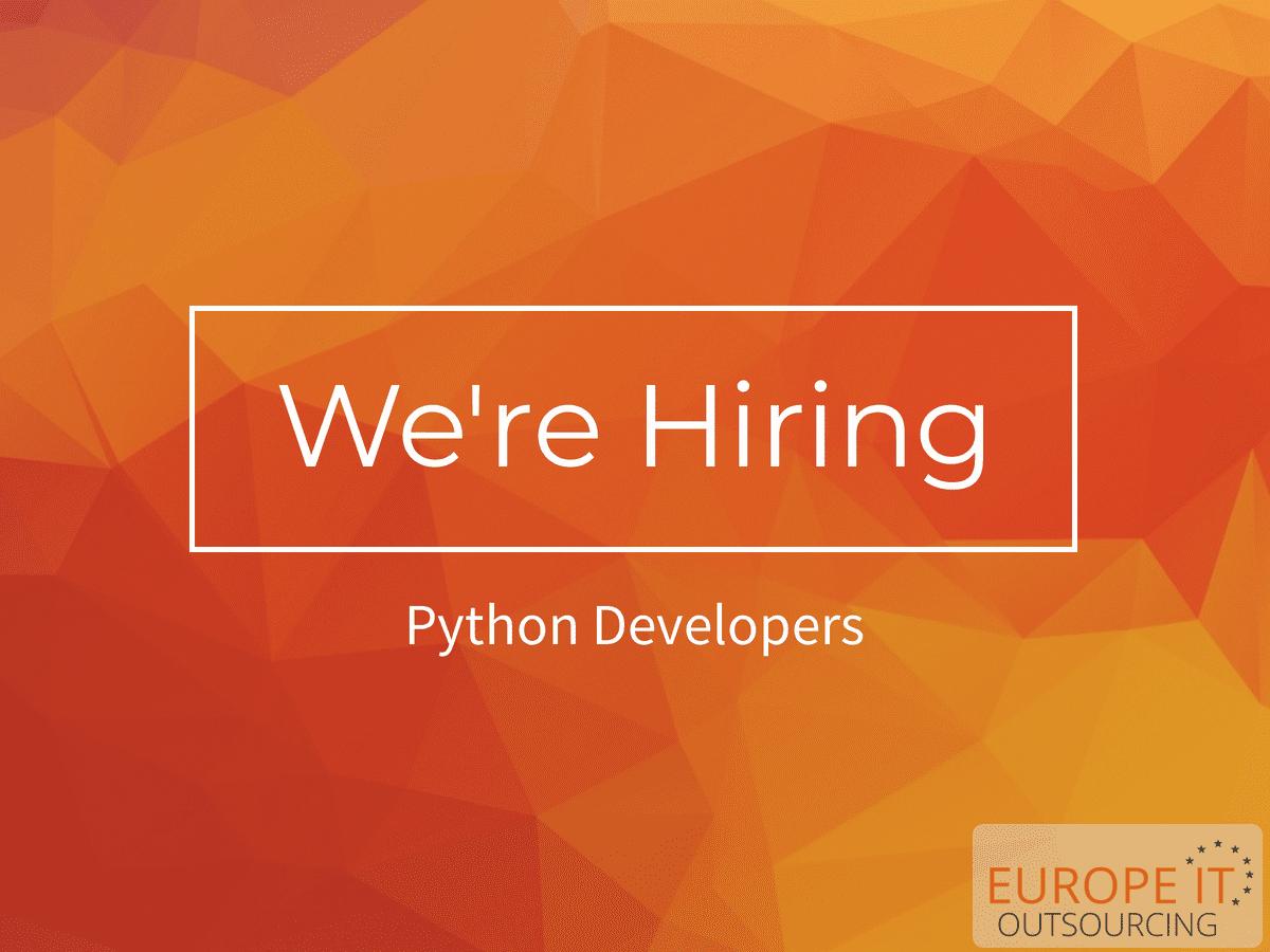 Python Developer Job